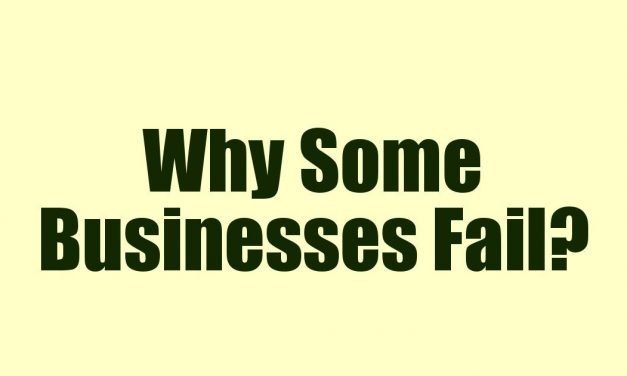 Why Some Businesses Fail?